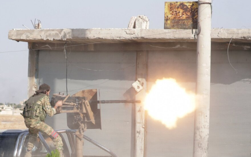 Turkijos ir jos remiamų sukilėlių grupių antpuolis prieš kurdų pajėgas