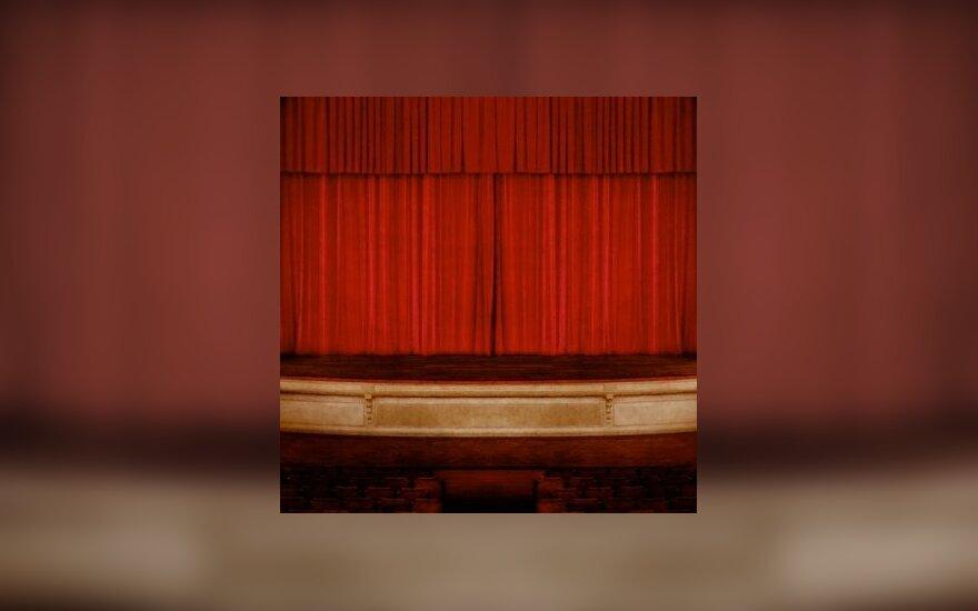 Teatras, scena, premjera