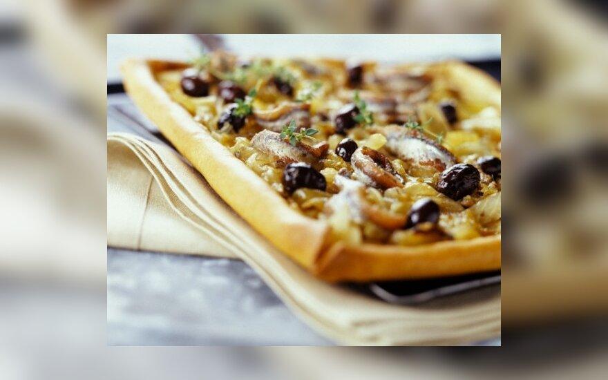 Okomiaki - japoniškoji pica