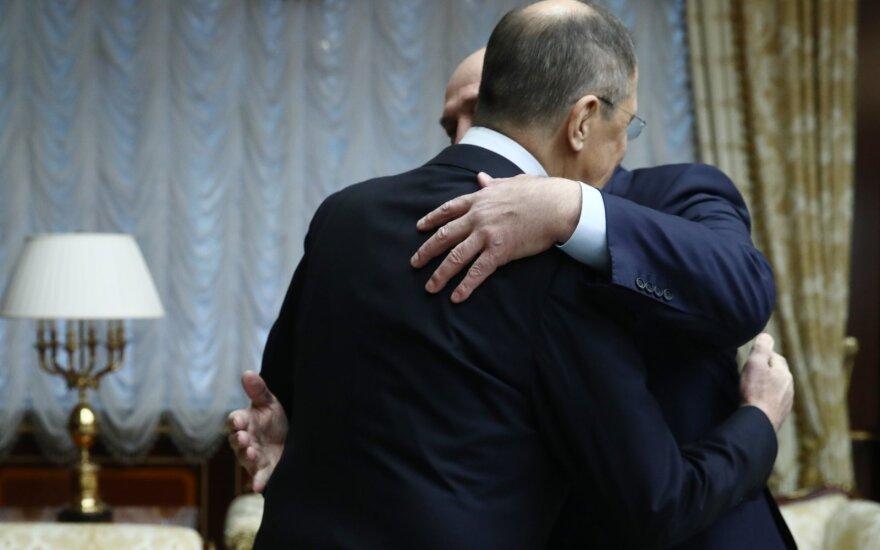 Sergejus Lavrovas, Aliaksandras Lukašenka