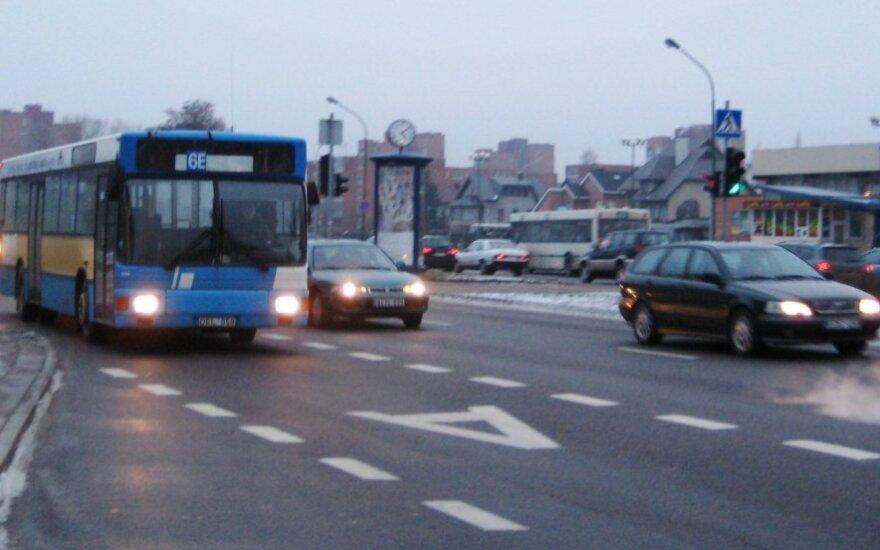 Greitasis autobusas Klaipėdoje R. Juozapaitytė nuotr.