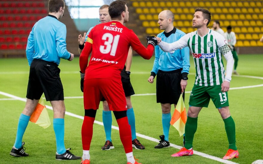 """Saulius Mikoliūnas (dešinėje), Lukas Paukštė (Foto: """"Žalgiris"""")"""