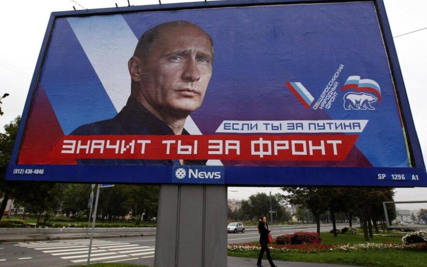 Rinkimų plakatai Rusijoje