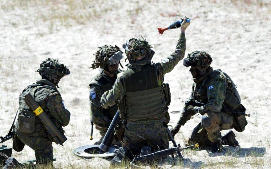 NATO dislokuos batalionus Lenkijoje ir Baltijos šalyse