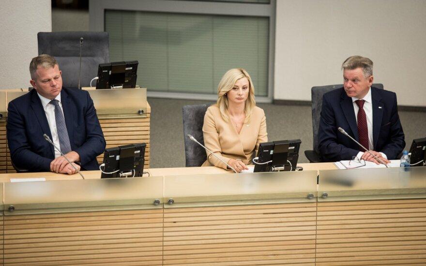 Andrius Palionis, Rita Tamašunienė, Miroslavas Narkevičius