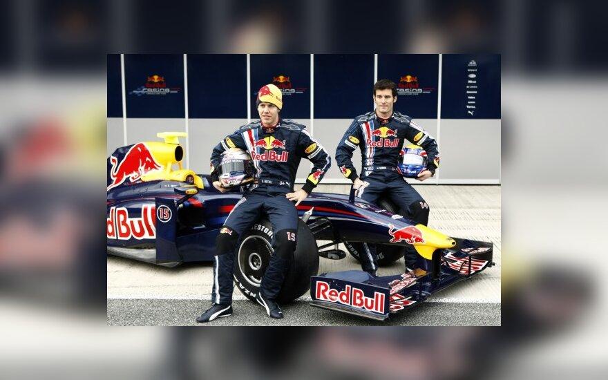 """M.Webberis: """"Red Bull"""" atsilieka nuo varžovų"""