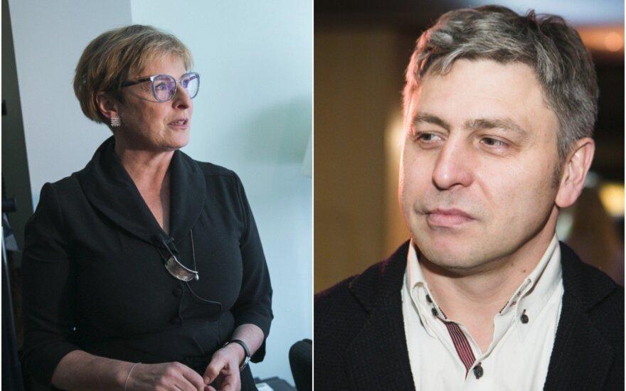 R. Vanagaitė ir M. Ivaškevičius