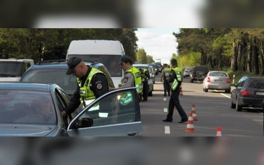 To iš policijos vairuotojai nesitikėjo: pasirašyti teko kas dešimtam