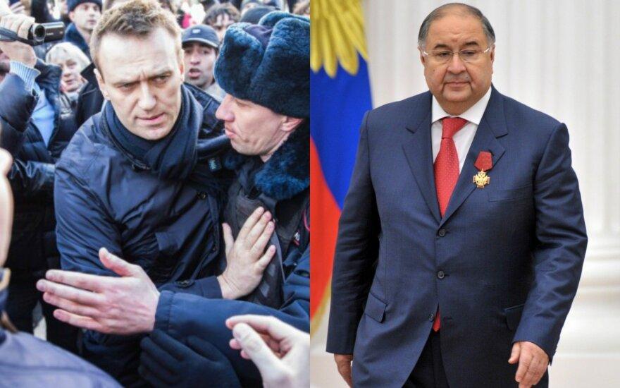 Kremliaus kritikas A. Navalnas pralaimėjo procesą dėl oligarcho šmeižto