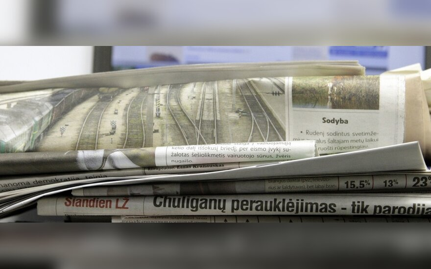 Vyriausybė nepritarė lengvatiniam PVM tarifui periodinių leidinių spausdinimui