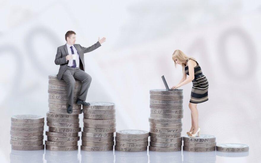 Atlyginimų skirtumai