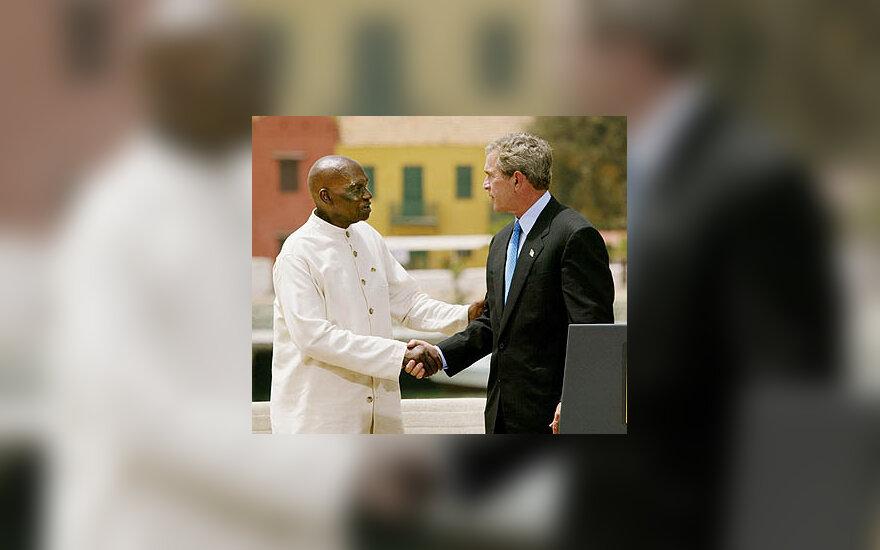 Abdoulaye Wade ir George'as W.Bushas