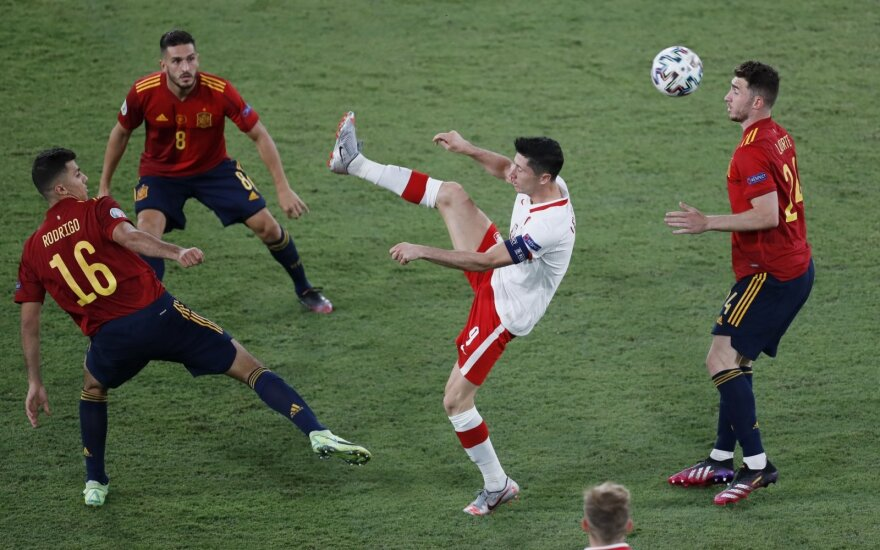 Euro 2020: Ispanija - Lenkija