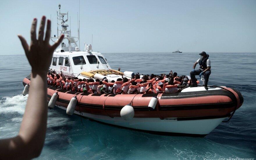 Prie Turkijos krantų nuskendus pabėgėlių valčiai žuvo 9 žmonės