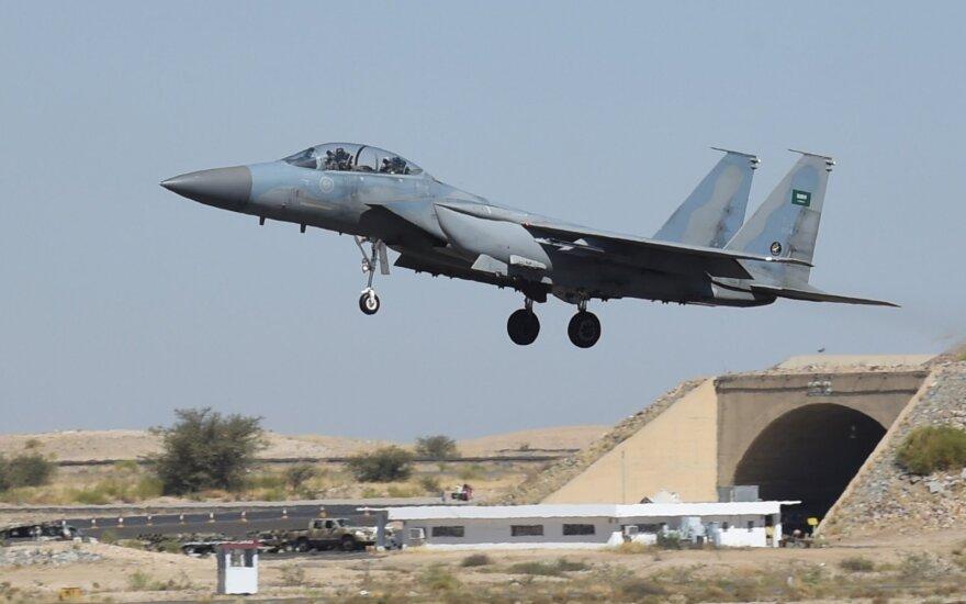 Saudo Arabijos naikintuvas F-15