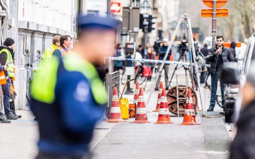"""Antverpene iškasus tunelį mįslingai apvogtas banko """"BNP Paribas"""" padalinys"""