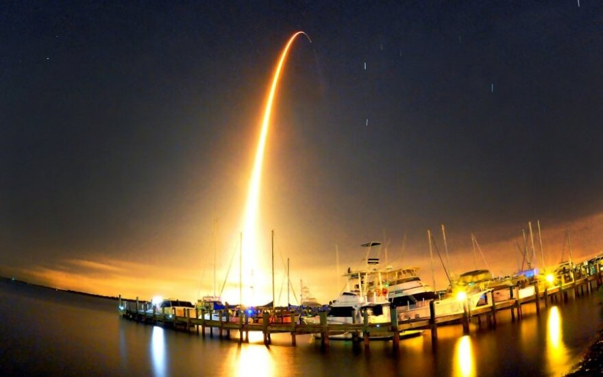 """SpaceX"" launch"