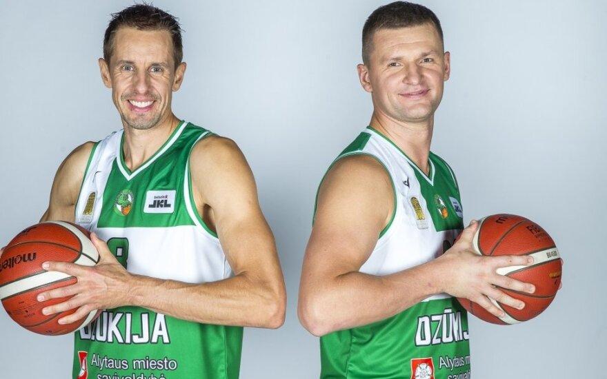 Mindaugas Lukauskis (kairėje), Artūras Jomantas
