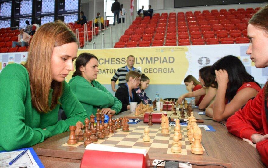 Lietuvos moterų šachmatų rinktinė / Foto: Lietuvos šachmatų federacija