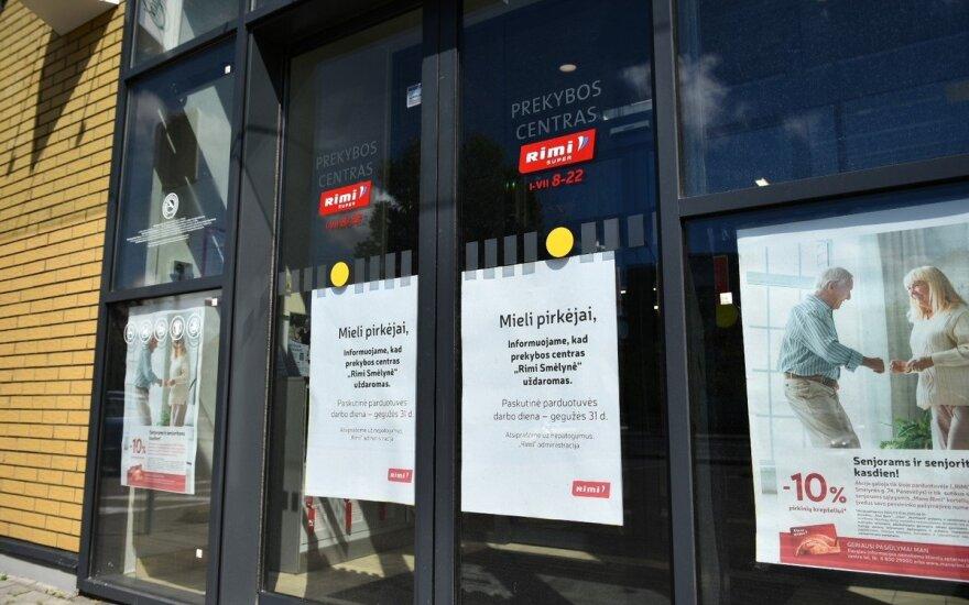 """Panevėžyje mažėja prekybos centrų: """"Rimi"""" uždaro vieną parduotuvę"""