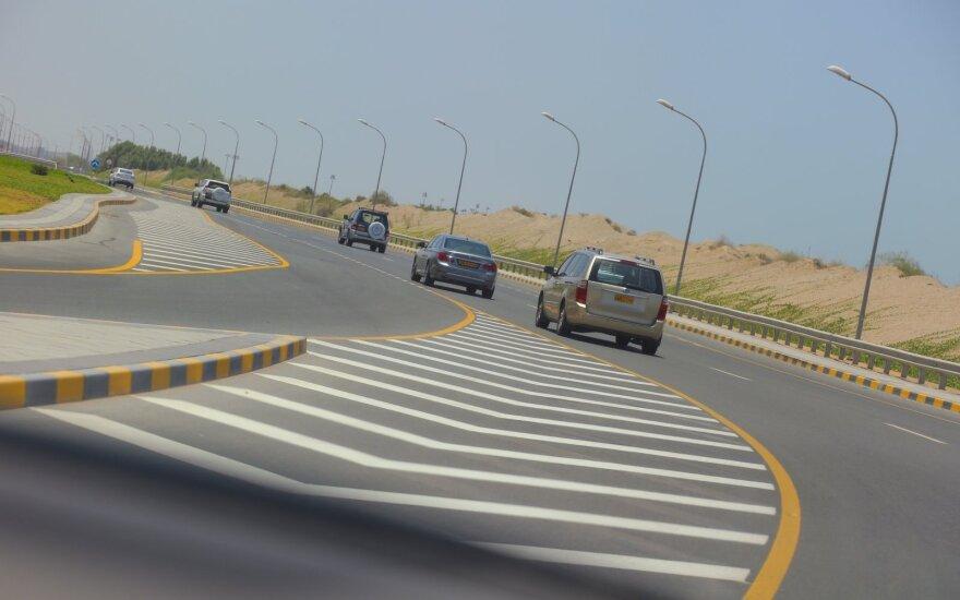 Apie milijoną, kuris Omanui padeda augti ir riedėti