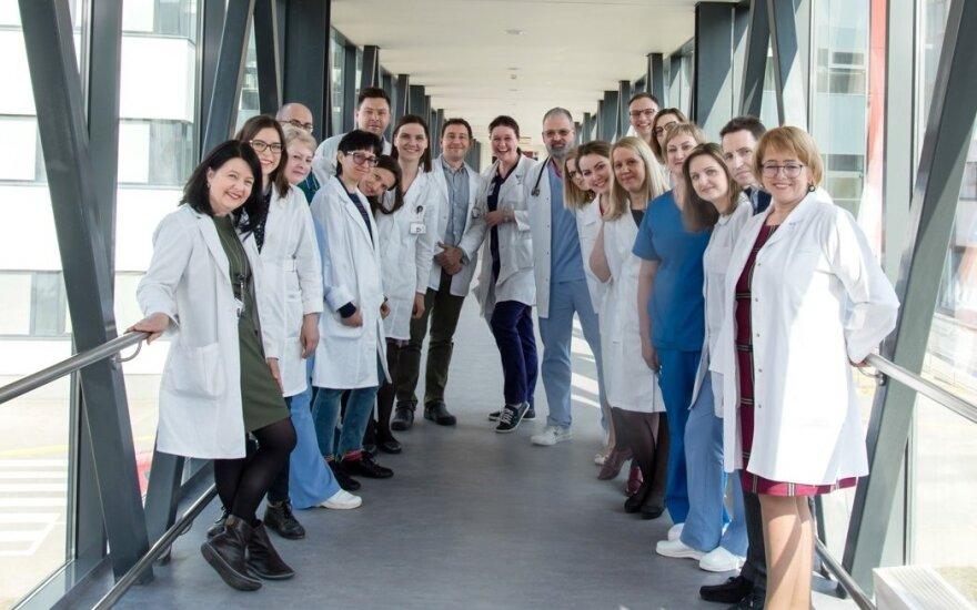 Santaros klinikų gydytojų kolektyvas