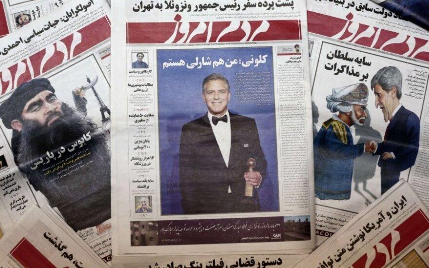Mardom e-Emruz paskelbė G. Clooney nuotrauką