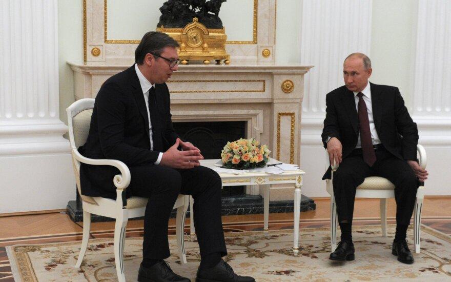 Aleksandras Vučičius, Vladimiras Putinas