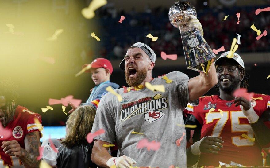 """""""Super Bowl"""" finalas"""