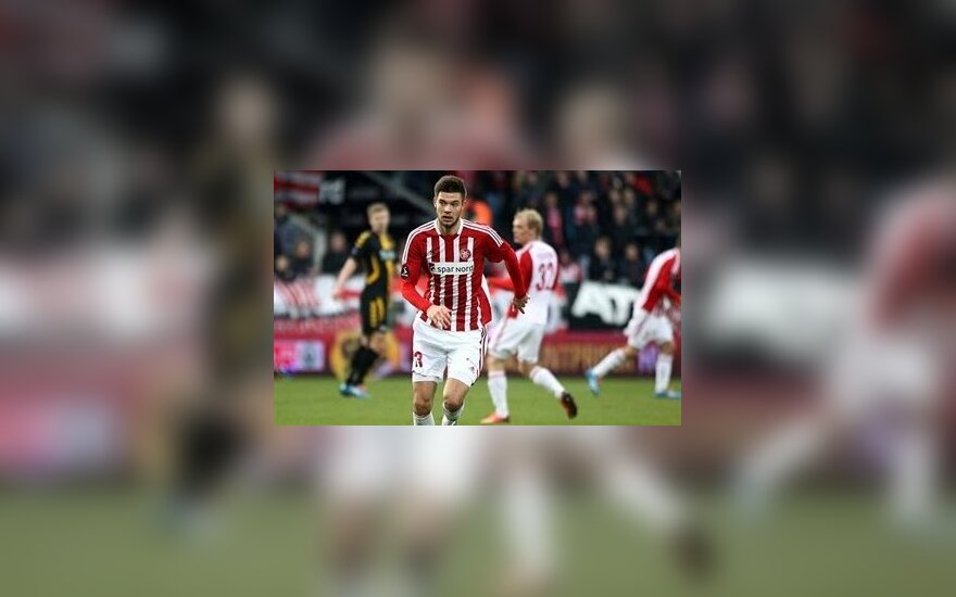 Lukas Spalvis (fodbold.aabsport.dk nuotr.)