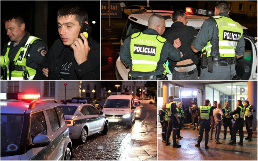 Tamsioji Joninių pusė sostinėje: girtutėliai vairuotojai, puošeiva prostitutė, pasiutę vaikai, daugybė muštynių