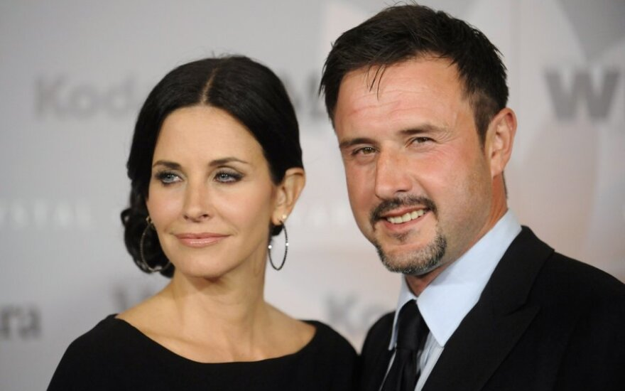 Davidas Arquette'as ir Courteney Cox