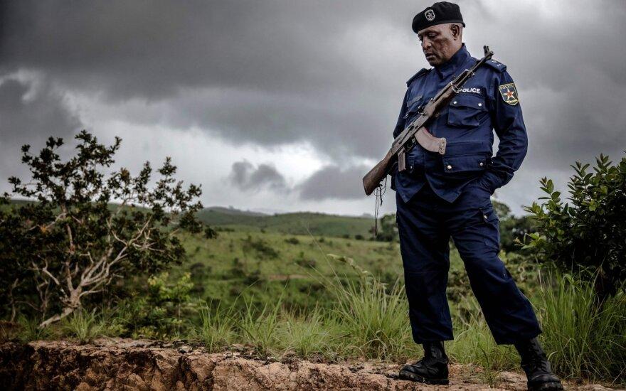 Kongo policijos pareigūnas