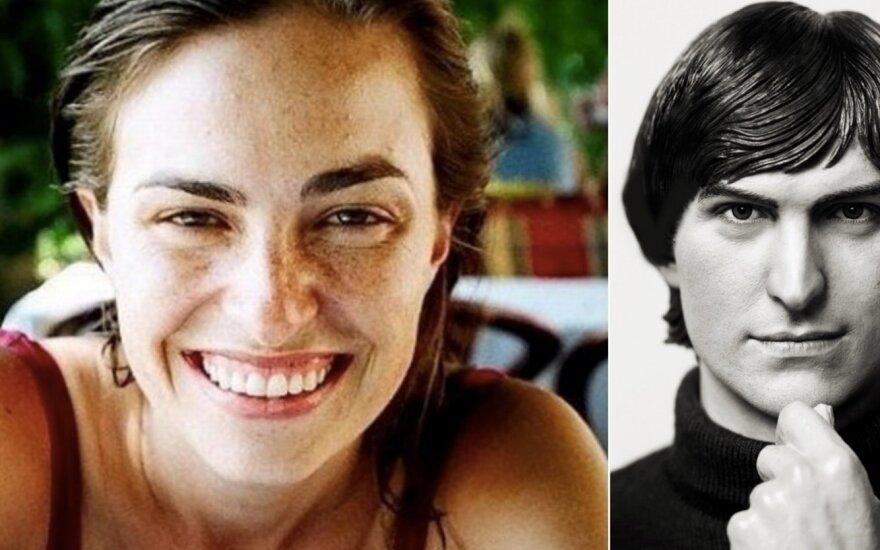 Lisa Brennan-Jobs ir Steve'as Jobsas