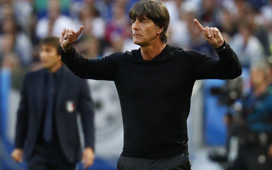 Vokietijos treneris Joachimas Lowas