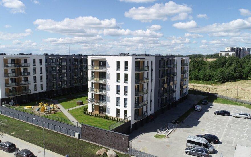 Pašilaičiuose užbaigtas daugiabučių projektas: pastatyti 444 butai