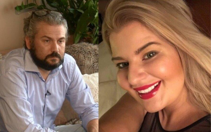 Nigelas Westas-Macaulay ir Sandra Grafinina