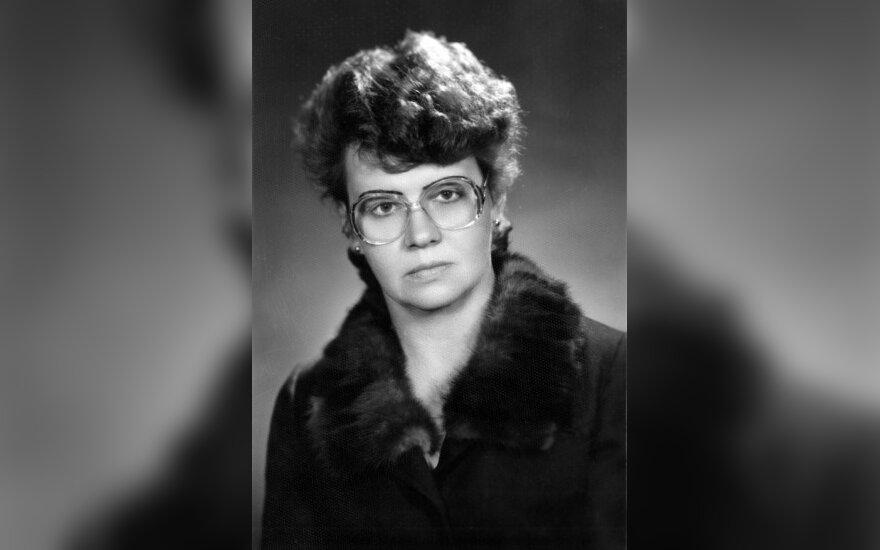 """Aldona Žičkienė (67), mokytojų senjorų klubo """"Šviesa"""" pirmininkė"""