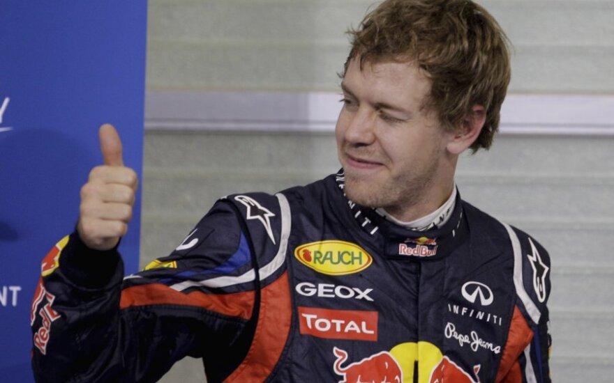 """Sebastianas Vettelis (""""Red Bull"""")"""