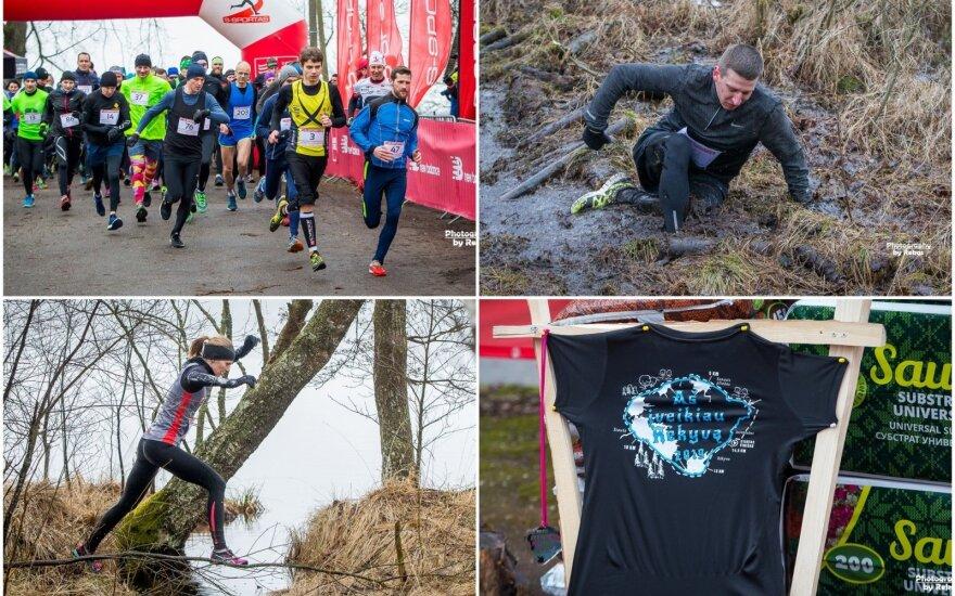 Bėgimas aplink Rėkyvos ežerą /  FOTO: Rokas Lukoševičius