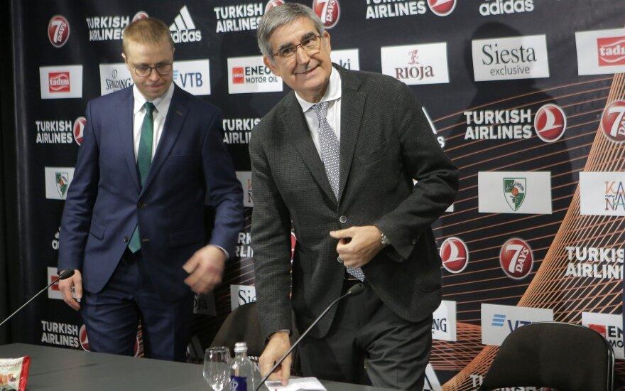 Jordi Bertomeu (dešinėje), Paulius Motiejūnas