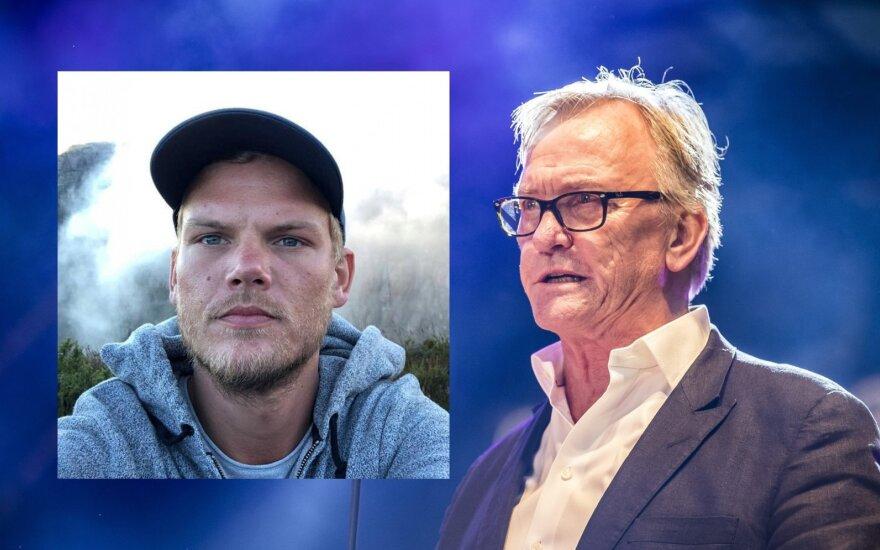 Avicii ir jo tėvas / Foto: Scanpix, Vida Press