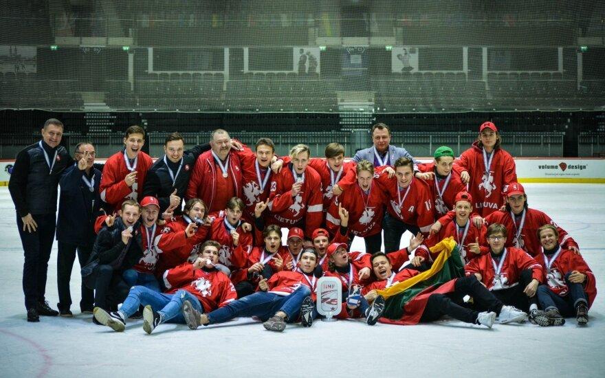 Lietuvos jaunių rinktinė iškovojo sidabro medalius