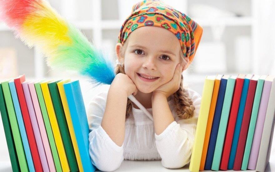 Kaip padėti vaikams pamėgti švarą?