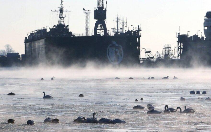 Rusai traukia Kaliningrado kortą?