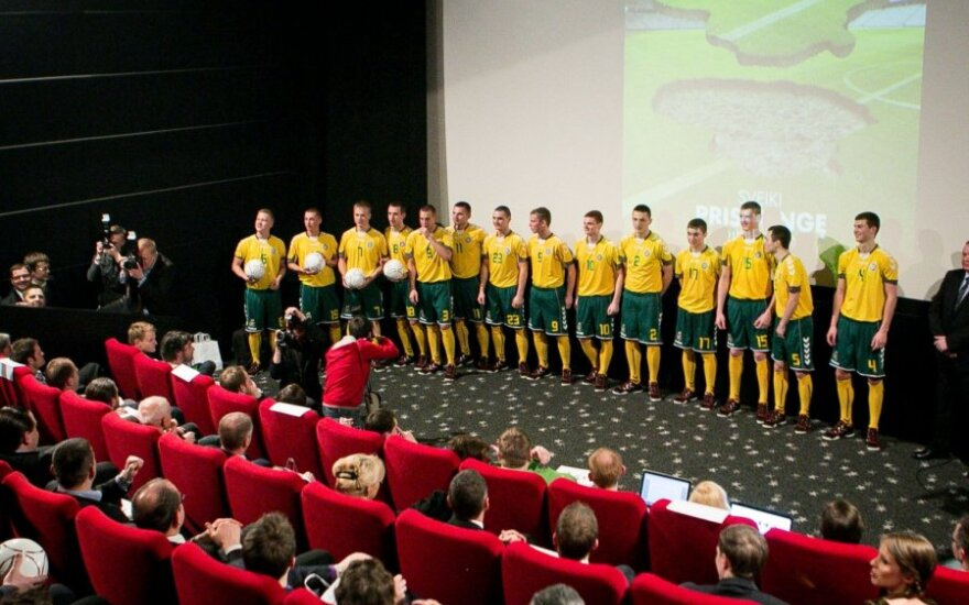 Europos U-19 futbolo čempionato pristatymas