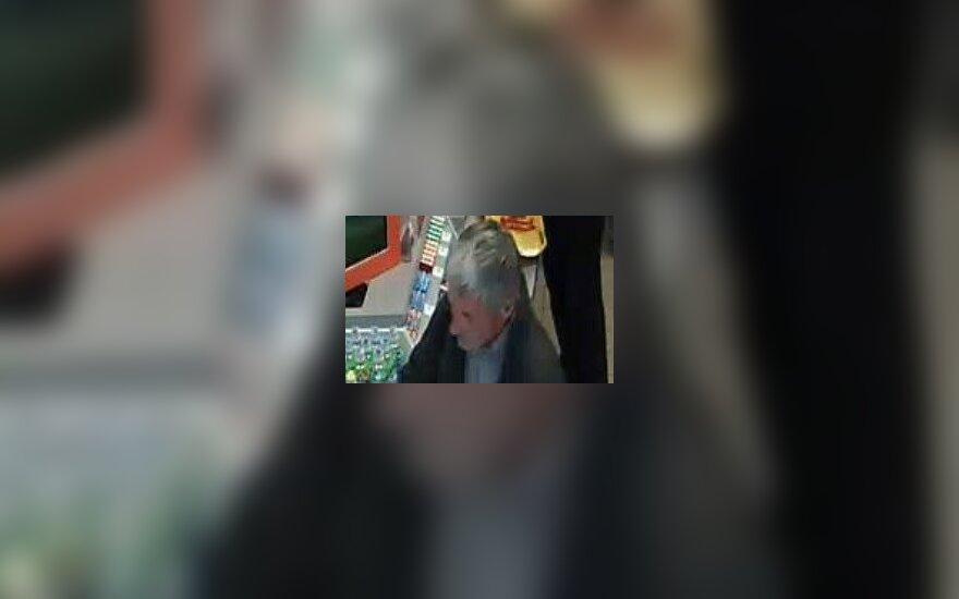 Kauno policija ieško vaizdo kameromis užfiksuoto vyro