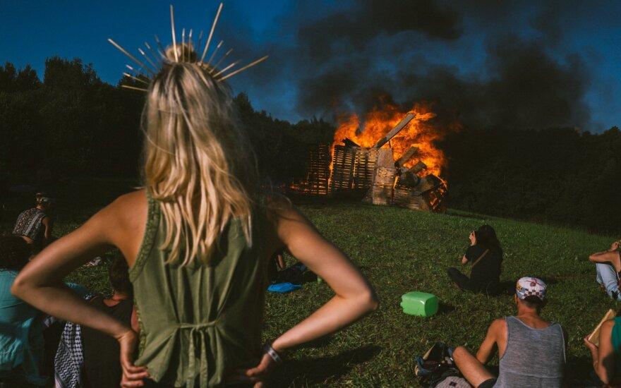 """Festivalio """"Baltic Burn"""" akimirkos/ Foto: Denis Vėjas"""