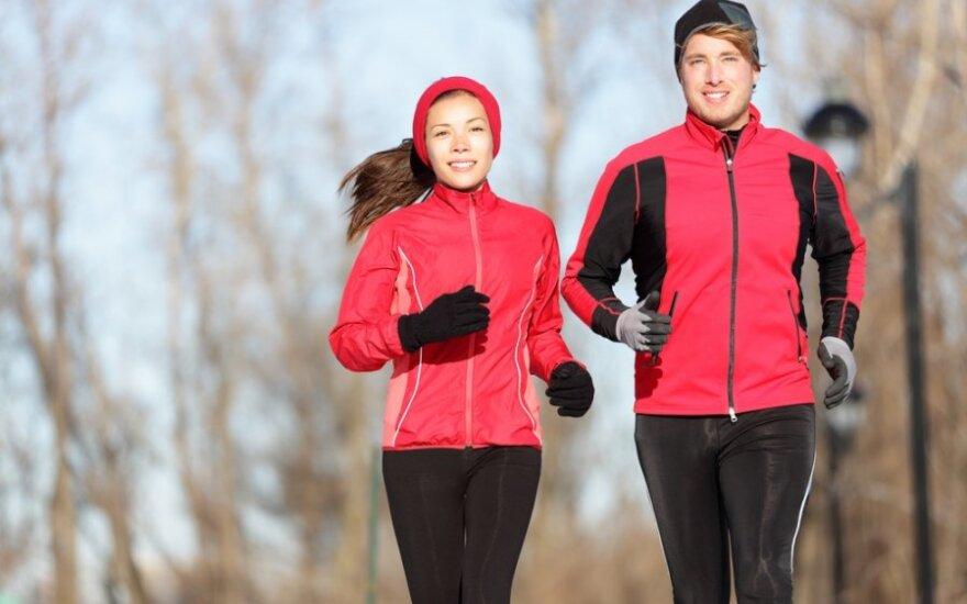 Bėgiojimas atšalus: ar yra ko bijoti?