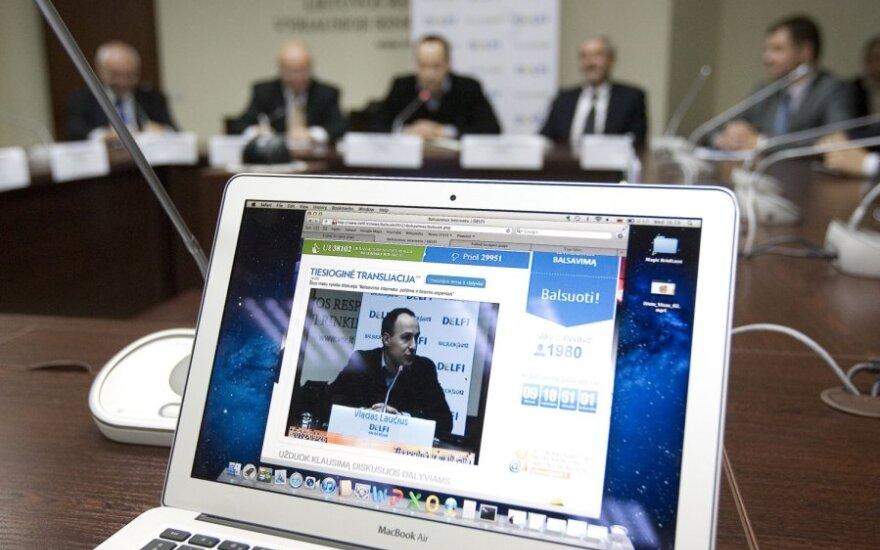 A.Valinskas: konservatoriai prieš ketverius metus žadėjo įteisinti internetinį balsavimą